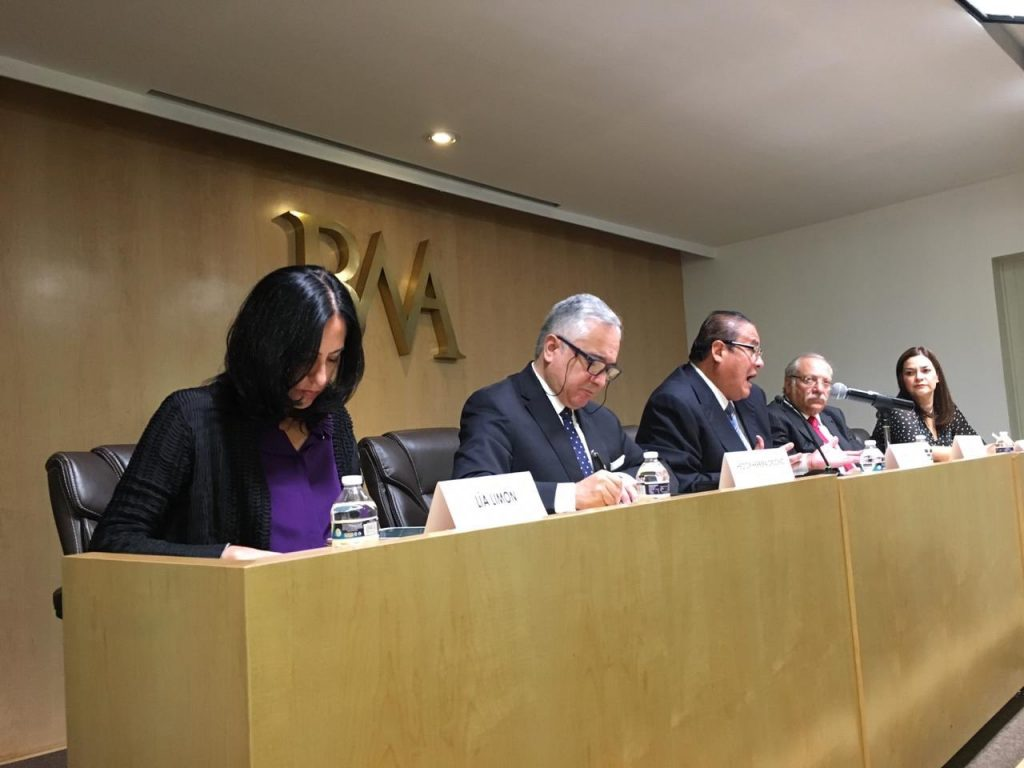 Conferencia del Primer Visitador General de la CNDH.